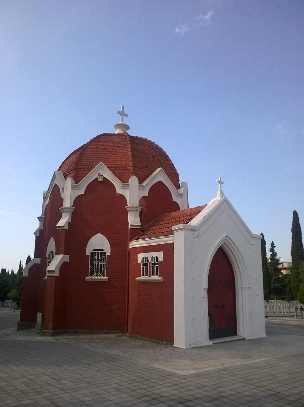 Zejtinlik francusko groblje kapela