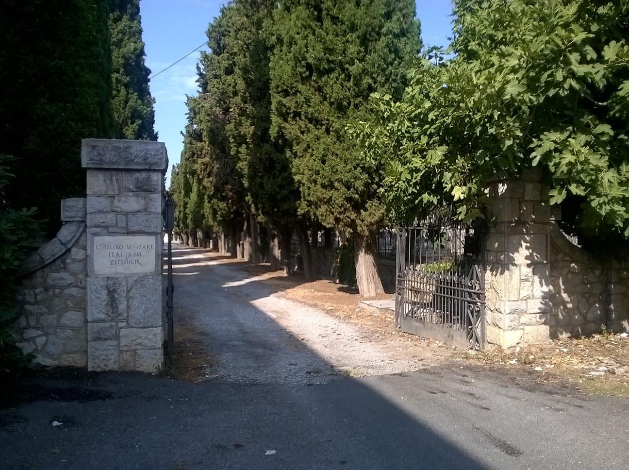 Zejtinlik italijansko groblje
