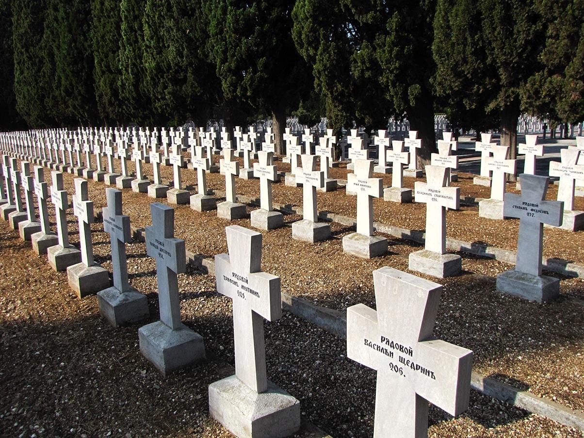 Zejtinlik rusko groblje