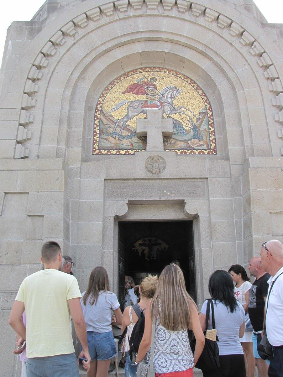 Zejtinlik ulaz u kapelu