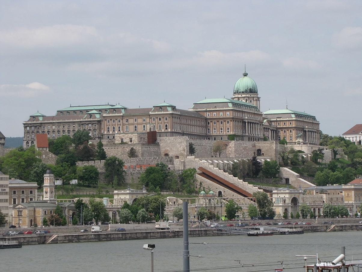 Budimpešta - Budimski dvorac