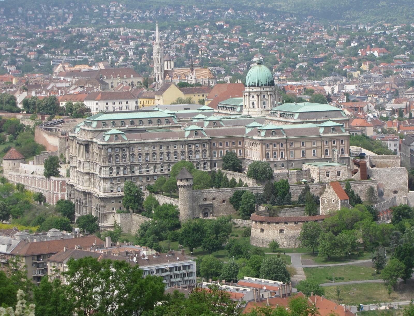Budimpešta, Budimski dvorac, Budapest, Buda castle