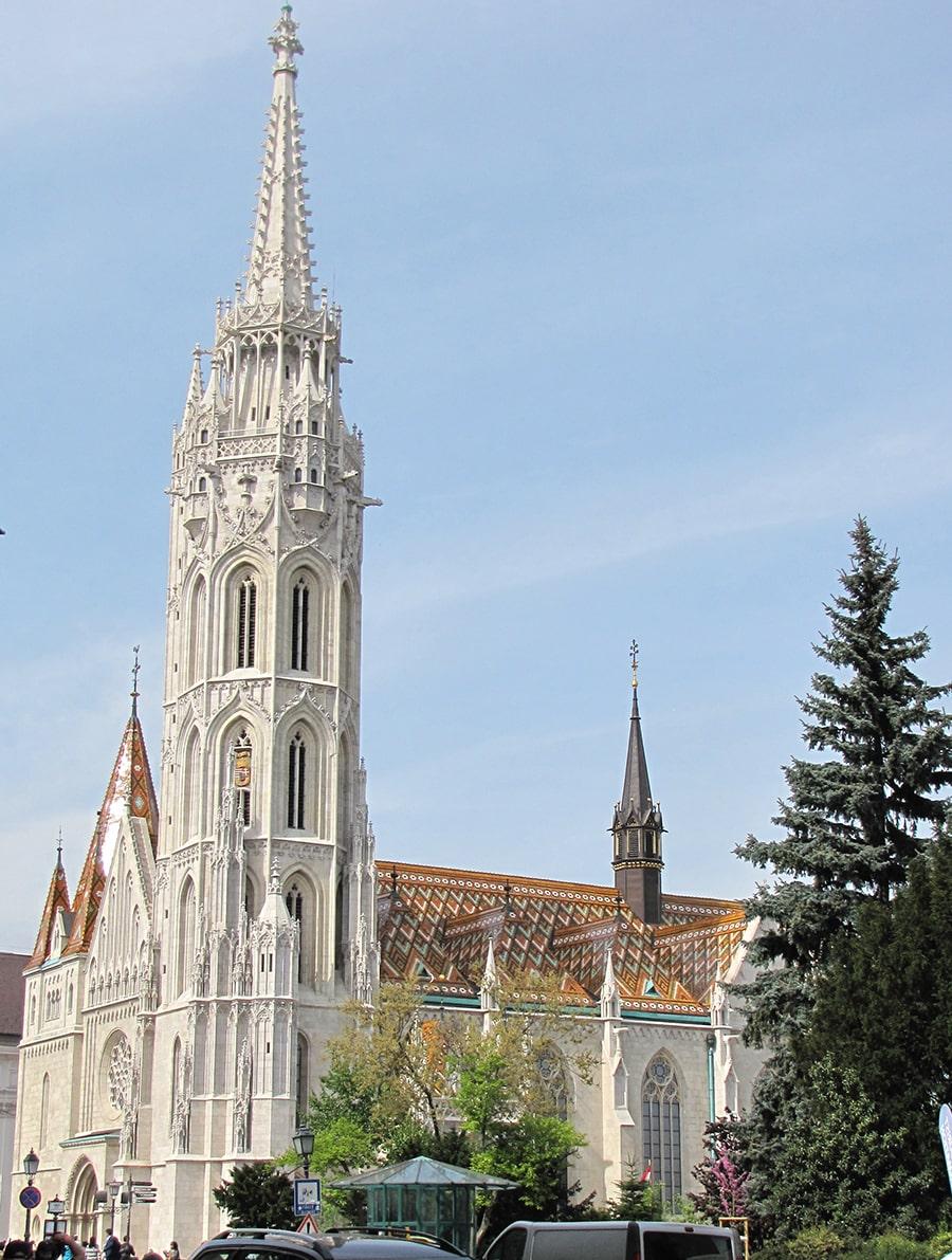 Budimpešta, Budapest, Matthias Church