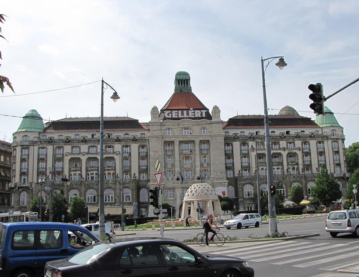 Budimpešta - Hotel Gelert