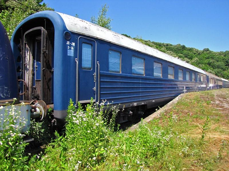Prateci vagoni plavog voza