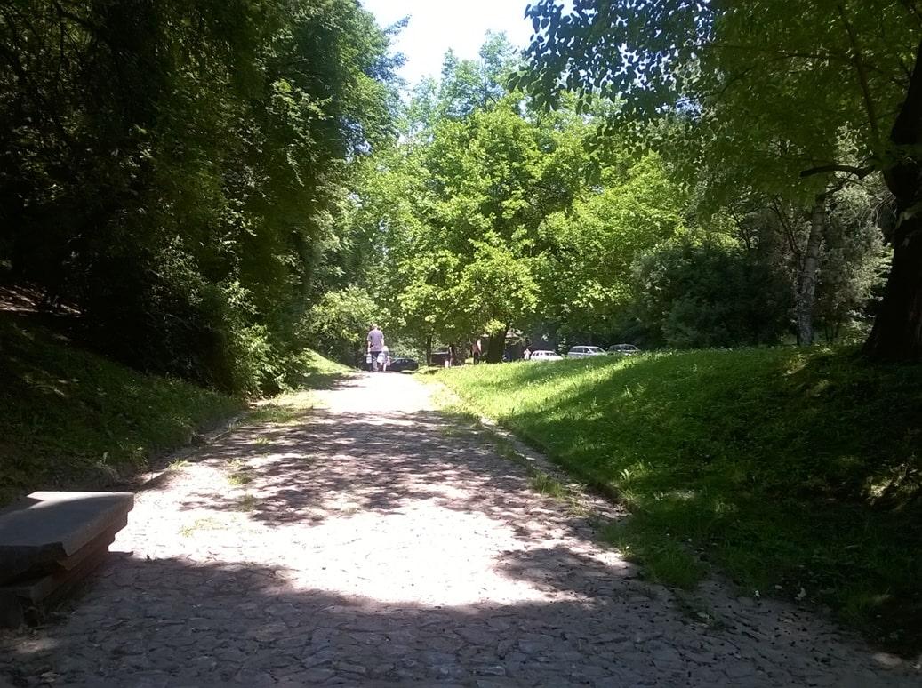 Prostor oko Hajdučke česme