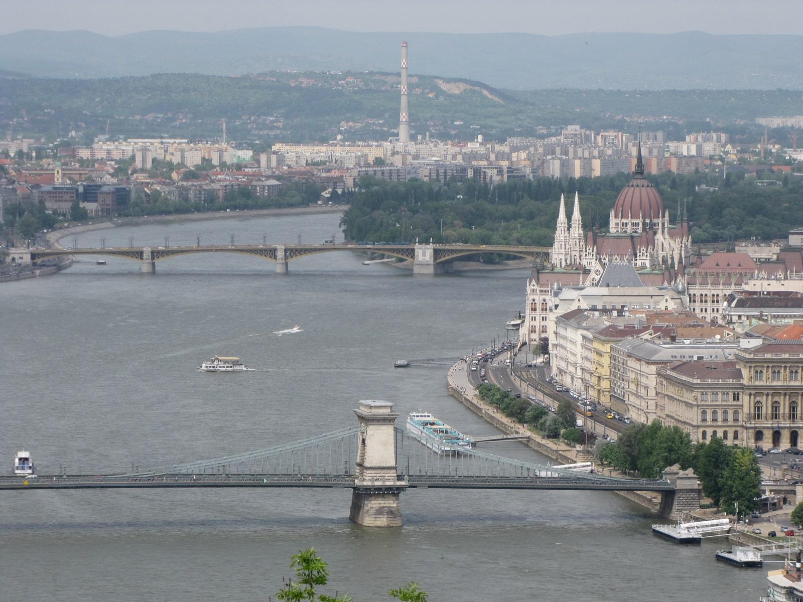 Budimpešta, mostovi preko Dunava, Budapest, bridges over Danube