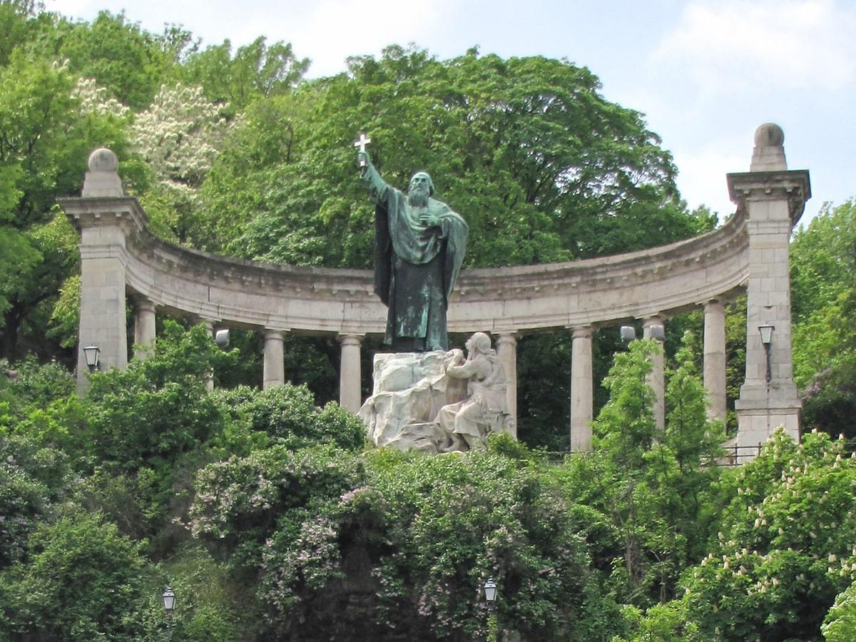 Budimpešta - Spomenik Svetom Gelertu
