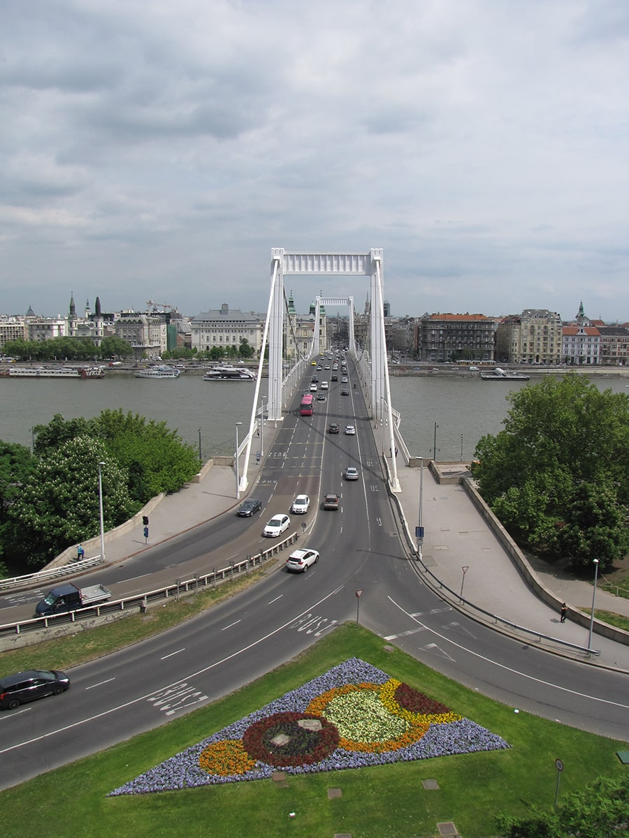 Budimpešta - Elizabetin most