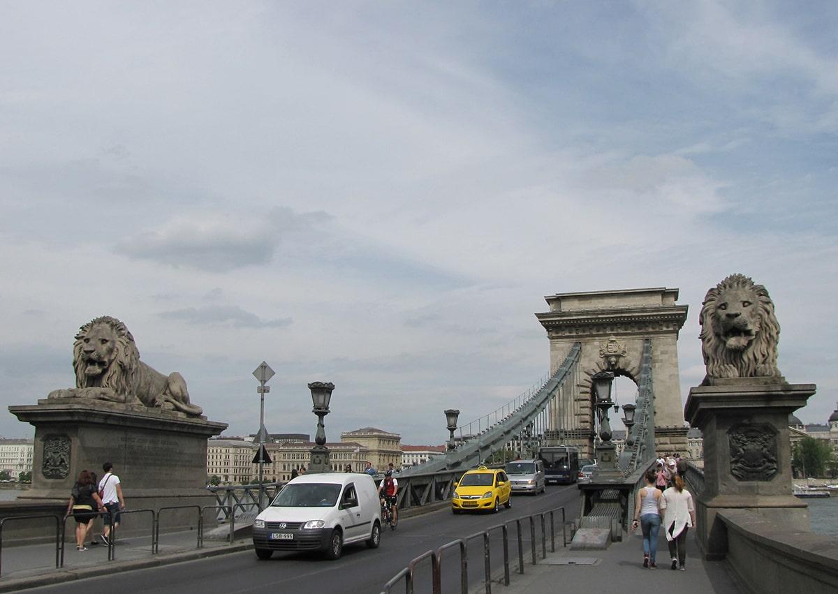 Budimpešta - Sečenjijev lančani most
