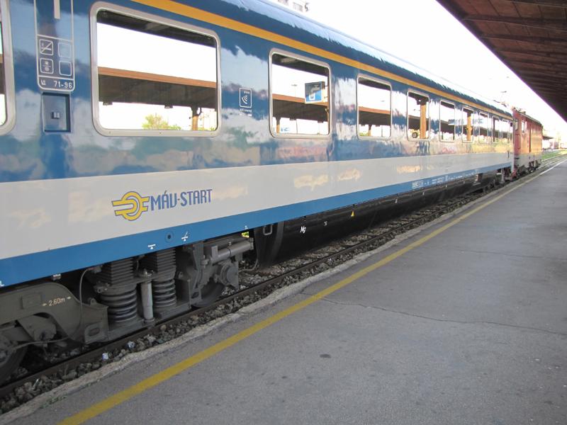 Putovanje u Sankt Peterburg Train 344 Avala MAV coach