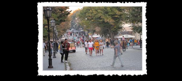 Odesa Deribasovska ulica